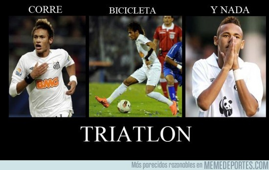 16241 - Neymar el triatleta