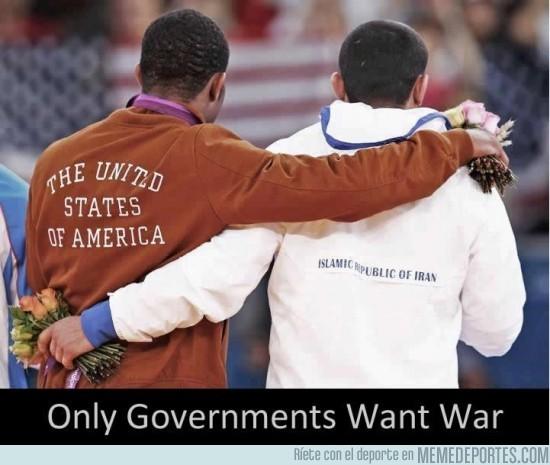 16413 - Sólo los gobiernos quieren la guerra
