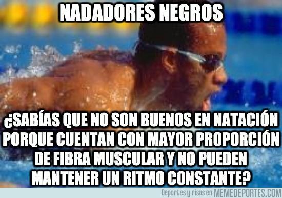 16496 - Es por eso que verás pocos negros nadando