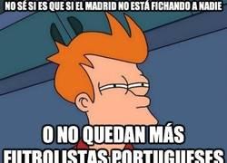 Enlace a No sé si es que el Madrid no está fichando a nadie