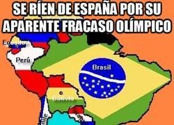 Enlace a Se ríen de España por su aparente fracaso olímpico