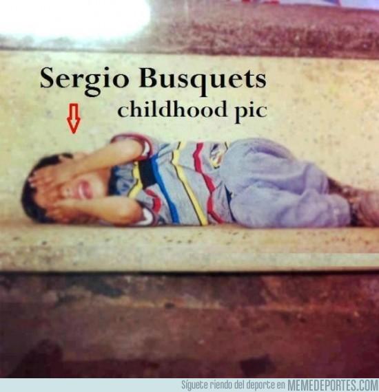16534 - Sergio Busquets de pequeño