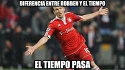 Enlace a ¿Cuál es la diferencia entre Robben y el tiempo?