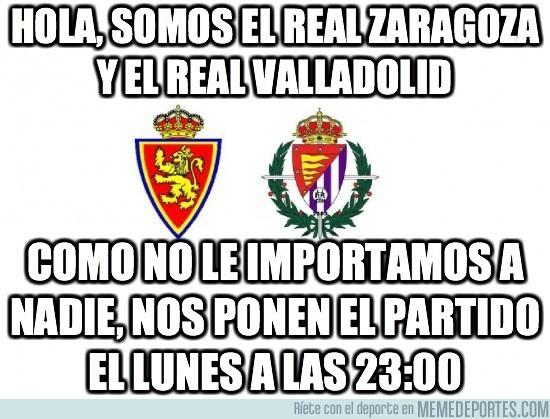 16798 - Hola, somos el Real Zaragoza y el Real Valladolid
