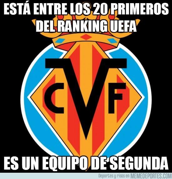 16910 - Está entre los 20 primeros del ranking UEFA