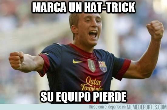 17042 - Marca un hat-trick increíble