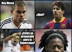 Enlace a Song, el nuevo guardaespaldas de Messi