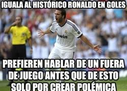 Enlace a Iguala al histórico Ronaldo en goles
