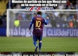Enlace a Tras Messi, los minutos de CR7