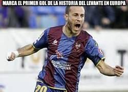 Enlace a Marca el primer gol de la historia del Levante en Europa
