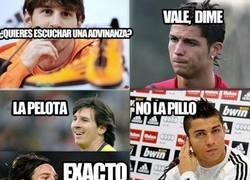 Enlace a Las adivinanzas de Messi