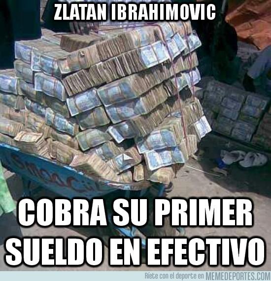 18912 - El primer sueldo de Zlatan