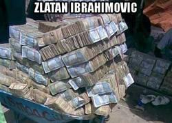 Enlace a El primer sueldo de Zlatan
