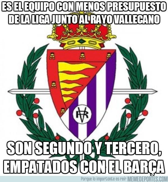 18931 - Es el equipo con menos presupuesto de la liga junto al Rayo Vallecano