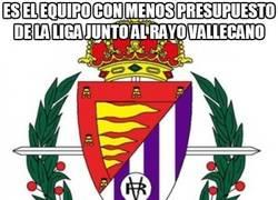 Enlace a Es el equipo con menos presupuesto de la liga junto al Rayo Vallecano