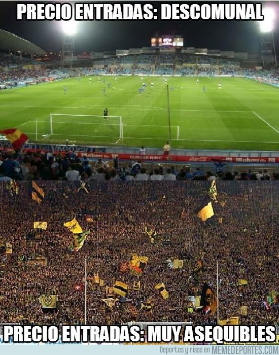 18948 - Precio de las entradas en Dortmund vs Getafe
