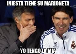 Enlace a Iniesta tiene su marioneta