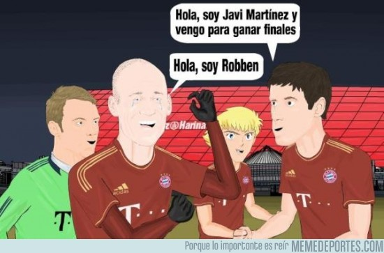 19367 - Pues con Robben la llevas clara, Javi