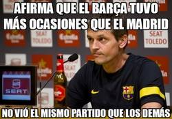 Enlace a Afirma que el Barça tuvo más ocasiones que el Madrid