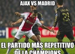 Enlace a AJAX VS MADRID