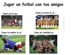 Enlace a Fútbol con amigos