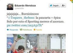 Enlace a Mítica pancarta del Sporting [Momento remember]