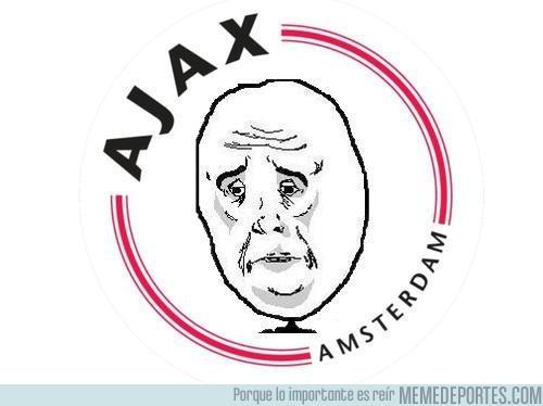 19863 - Nuevo escudo del Ajax después de conocer sus rivales en la Champions