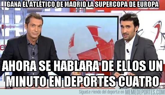 20004 - Gana el atlético de Madrid la supercopa de Europa