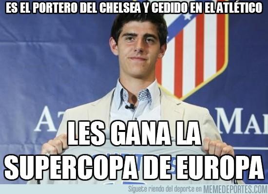 20018 - Es el portero del Chelsea y cedido en el Atlético