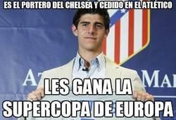 Enlace a Es el portero del Chelsea y cedido en el Atlético