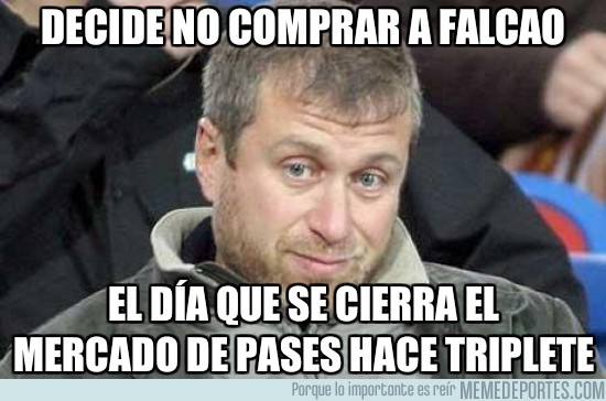20139 - Bad luck Abramovich