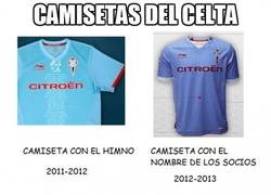 Enlace a Camisetas del celta