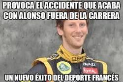 Enlace a Provoca el accidente que acaba con Alonso fuera de la carrera