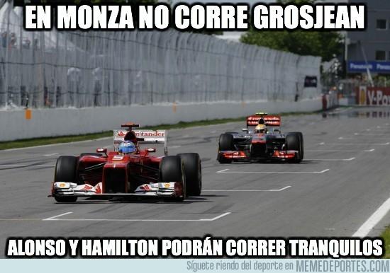 20844 - En Monza no corre Grosjean