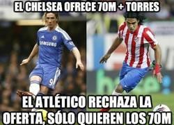 Enlace a El Chelsea ofrece 70M + Torres