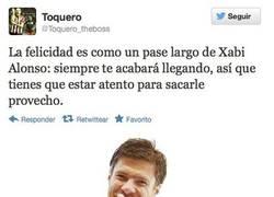 Enlace a Un pase de Xabi Alonso por @toquero_theboss