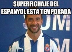 Enlace a Superfichaje del Espanyol esta temporada