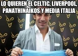 Enlace a Lo quieren el Celtic, Liverpool, Panathinaikos y media Italia