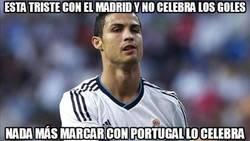 Enlace a Esta triste con el madrid y no celebra los goles