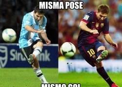 Enlace a Misma pose