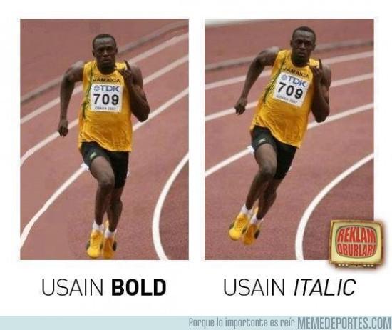22168 - Usain Bold / Usain Italic