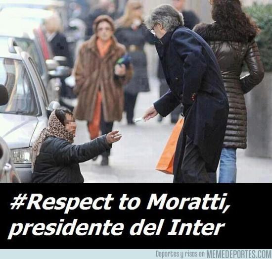 22169 - Respect para Moratti