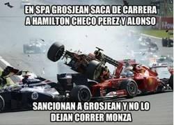 Enlace a El karma aún fue más rebuscado en Monza, ¡brutal!