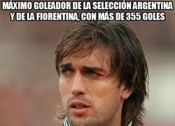 Enlace a Máximo goleador de la Selección Argentina