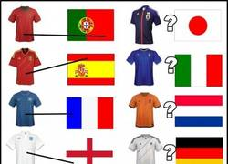 Enlace a Los colores de las camisetas no tienen nada que ver con las banderas