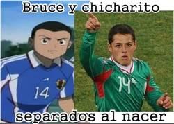 Enlace a Bruce y Chicharito