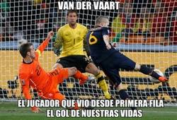 Enlace a Van Der Vaart, la envidia de muchos