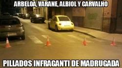 Enlace a Arbeloa, Varane, Albiol y Carvalho