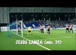 Enlace a Golazo Olímpico de Jesús Lanzas en la Copa del Rey