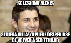 Enlace a Se lesiona Alexis